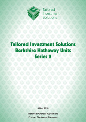 Tailored Investment Solutions Berkshire Hathaway Series 2 PDS
