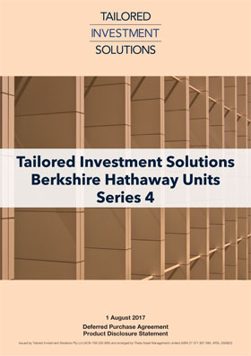 Tailored Investment Solutions Berkshire Hathaway Series 4 PDS