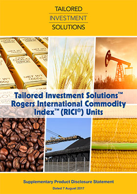 Tailored Investment Solutions RICI SPDS