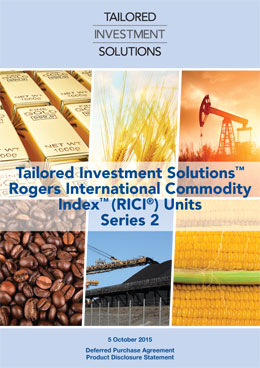 Tailored Investment Solutions RICI Series 2 PDS